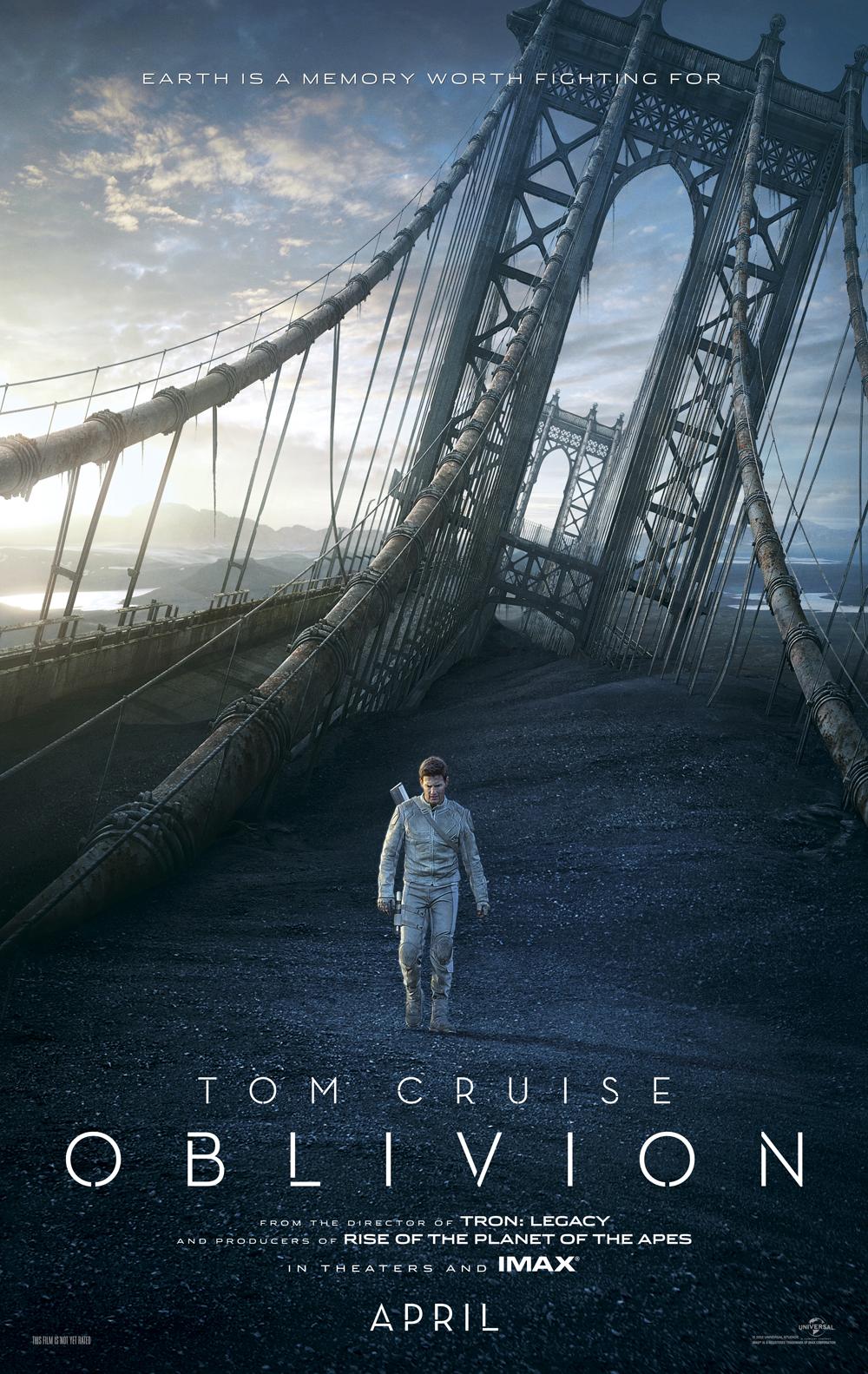 oblivion tiempo del olvido tom cruise poster