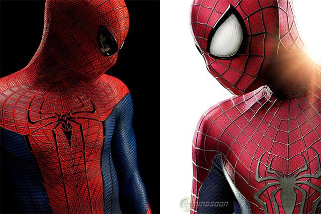 trajes hombre araña 2014 comparacion