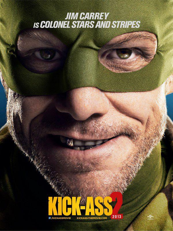 Kick Ass 2 Jim Carrey poster