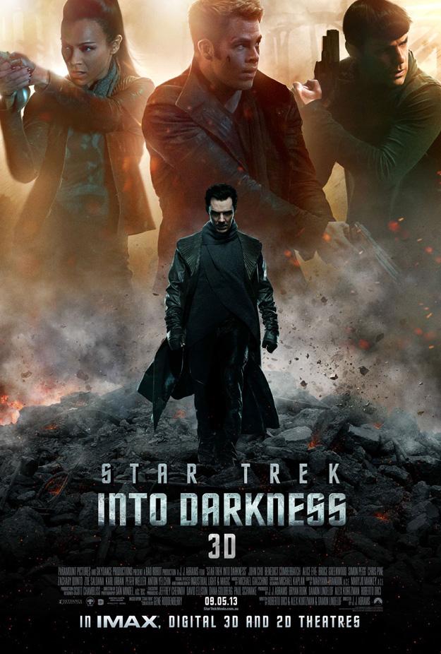 star trek en la oscuridad poster