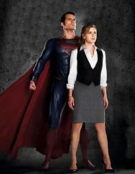 superman y lois lane hombre de acero