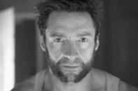 hugh jackman retrato wolverine