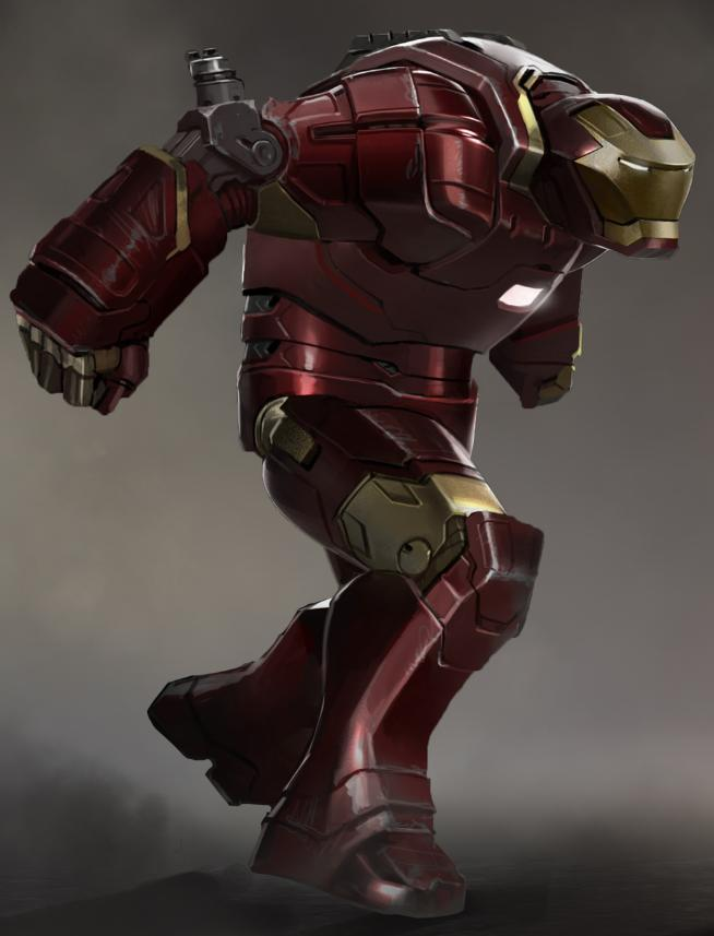iron man 3 armadura hulk heavy duty hulkbuster
