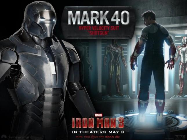 iron man 3 mark 40 shotgun escopeta