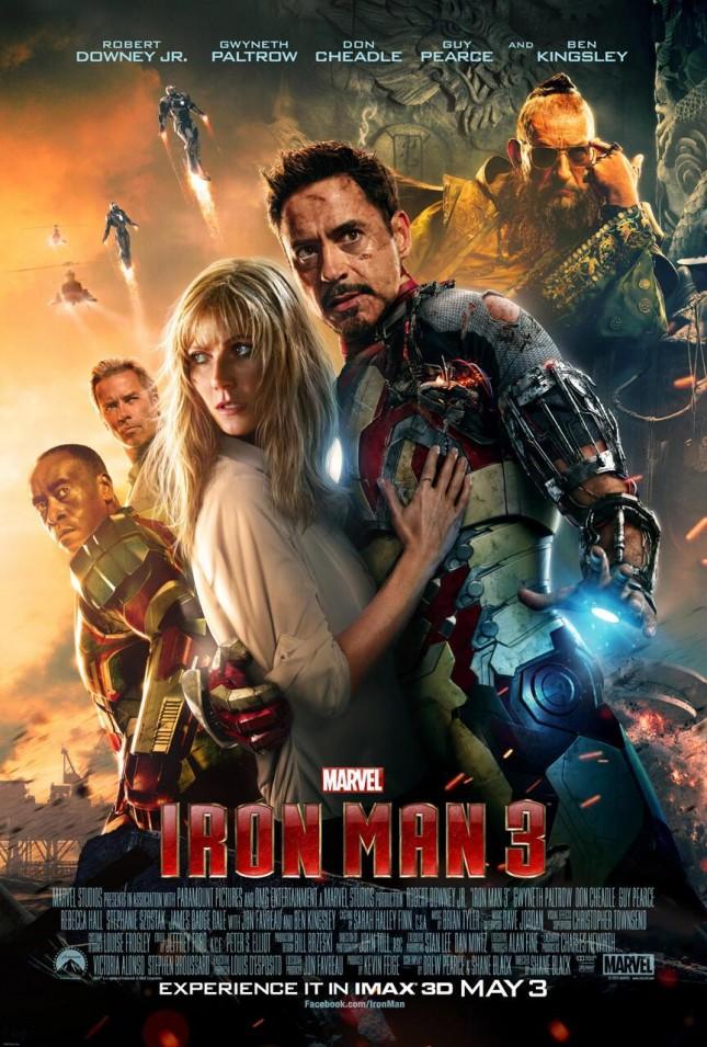 iron man 3 poster imax