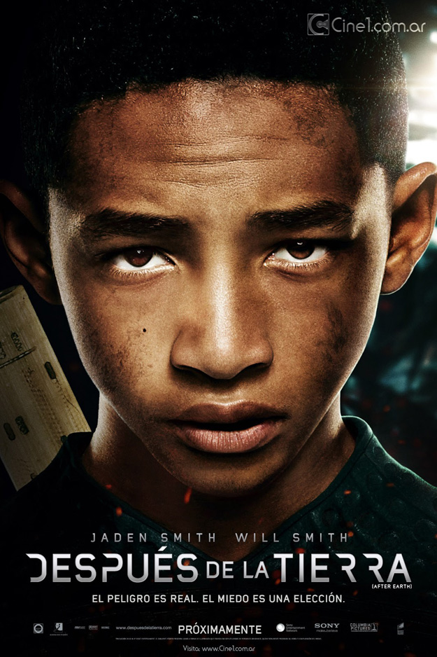 despues de la tierra jaden smith poster