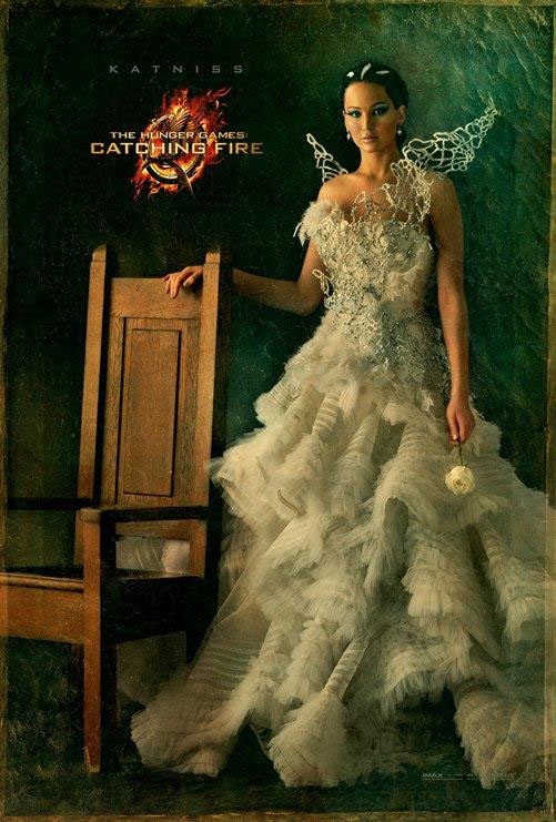 katniss everdeen jennifer lawrence en llamas
