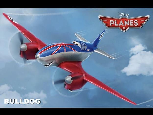 planes bulldog disney