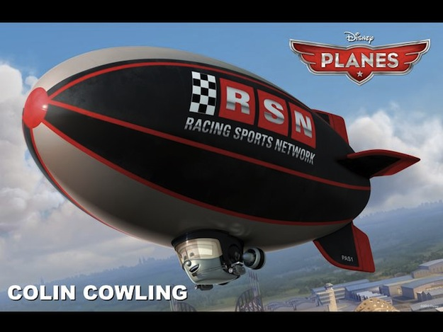 planes colin cowling disney