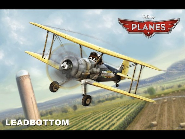 planes leadbottom disney