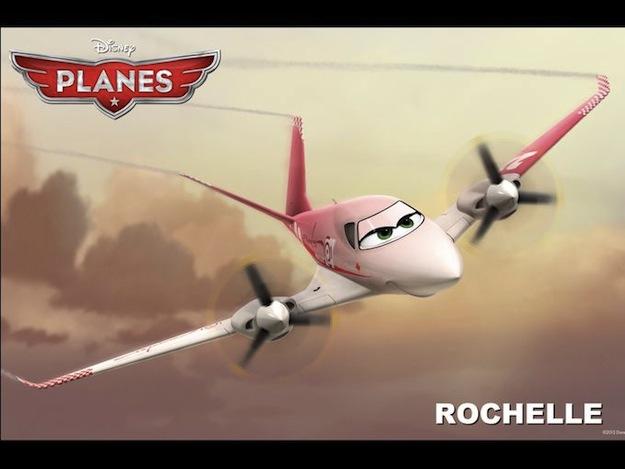 planes rochelle disney