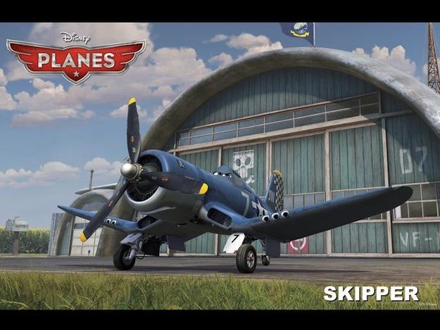 planes skipper disney