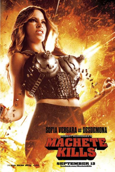 sofia vergara machete kills poster