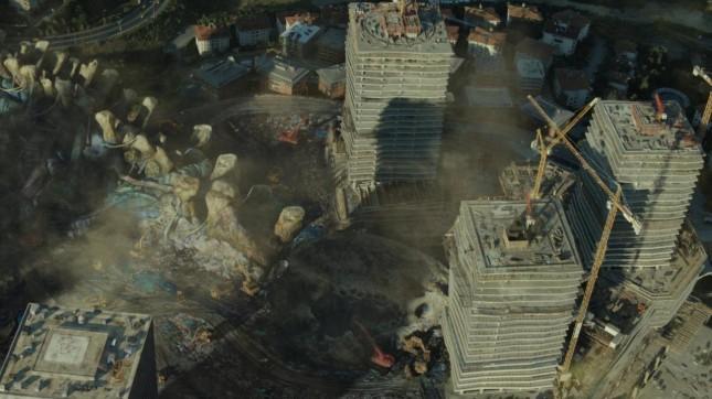 titanes del pacifico restos kaiju