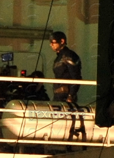 Captain America Filming in Los Angeles