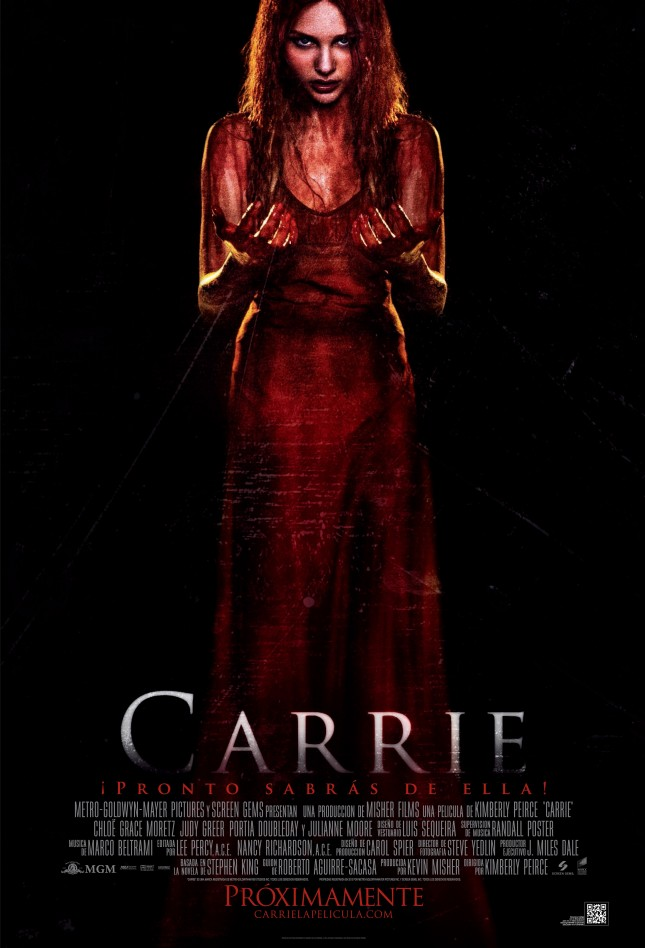 carrie poster mexico 2013