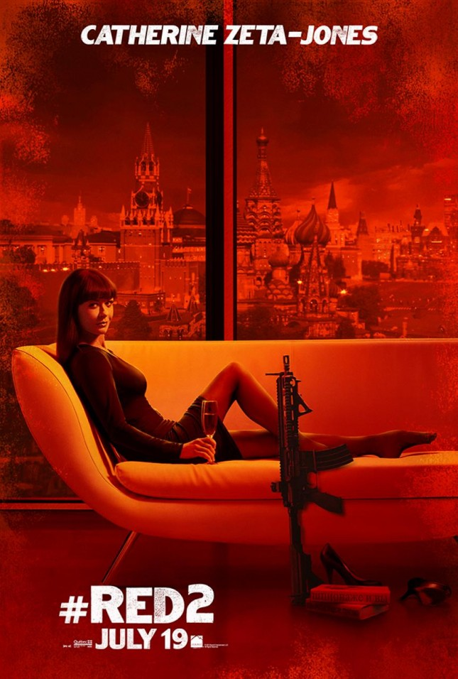catherine zeta jones poster red 2
