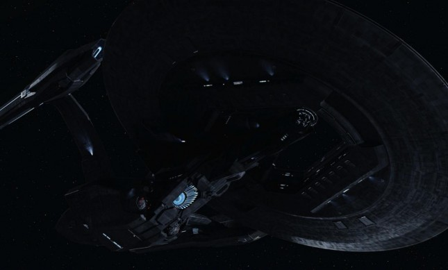 dreadnaught star trek en la oscuridad