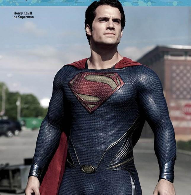 hombre de acero henry cavill superman ew