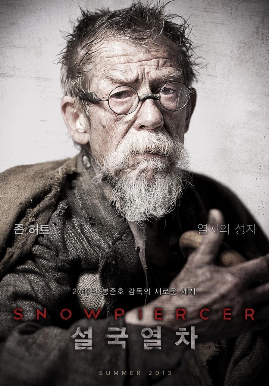 john hurt snowpiercer poster