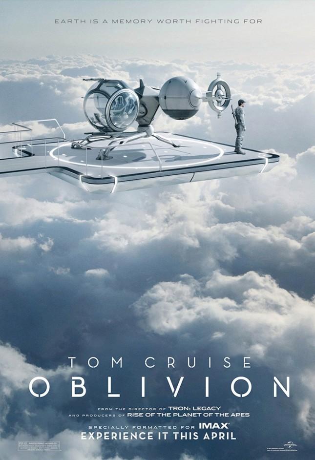 oblivion tiempo del olvido poster imax