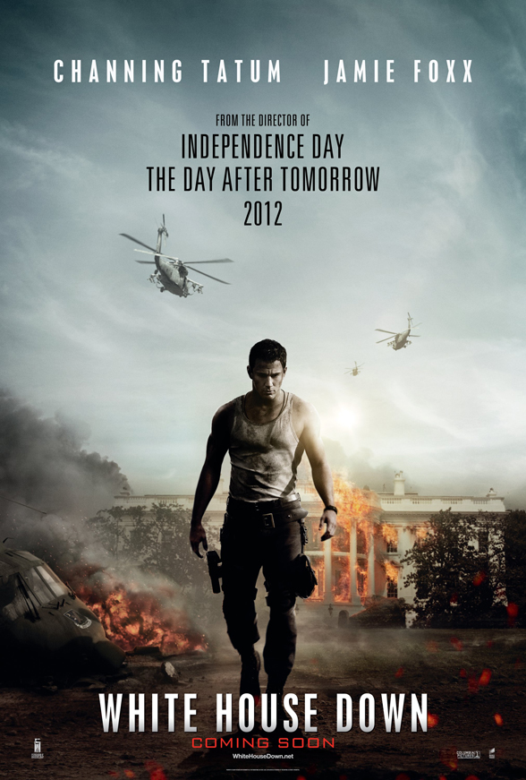 white house down channing tatum poster