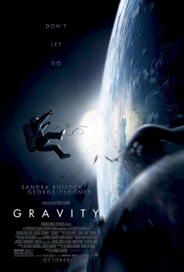 gravity pelicula poster