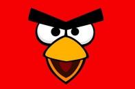 angry birds cara roja