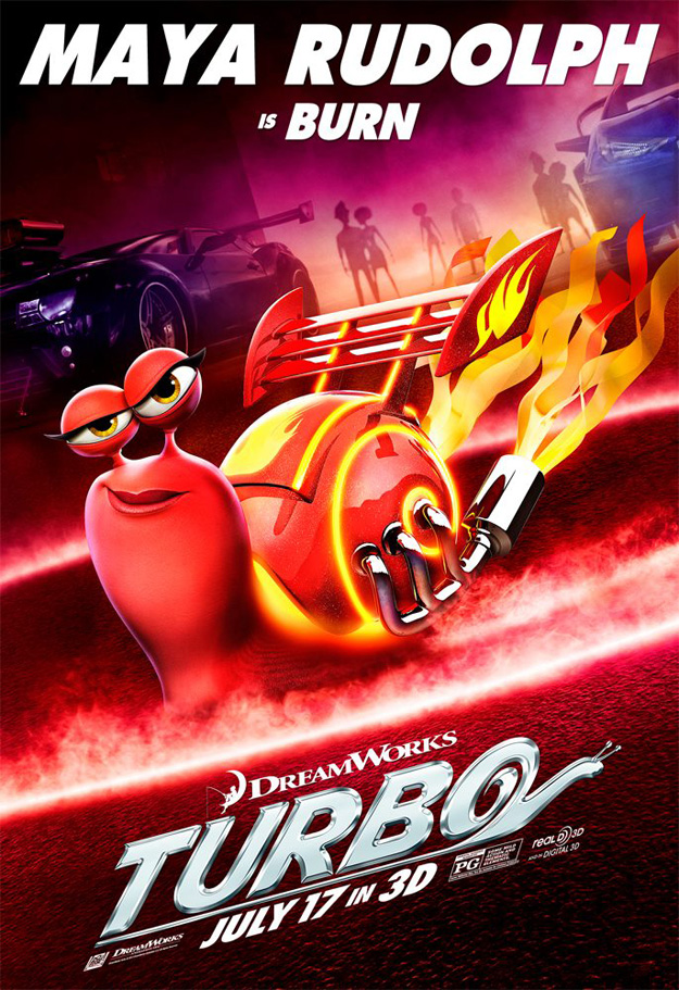 burn turbo personajes