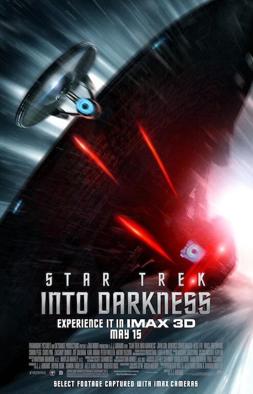 star trek en la oscuridad poster imax