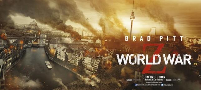 guerra mundial z banner londres
