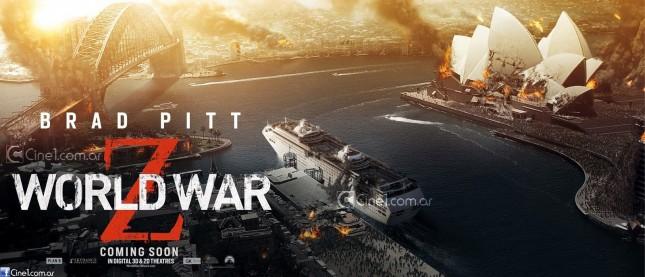 guerra mundial z banner sydney