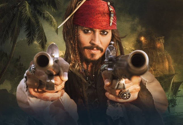 johnny depp es jack sparrow