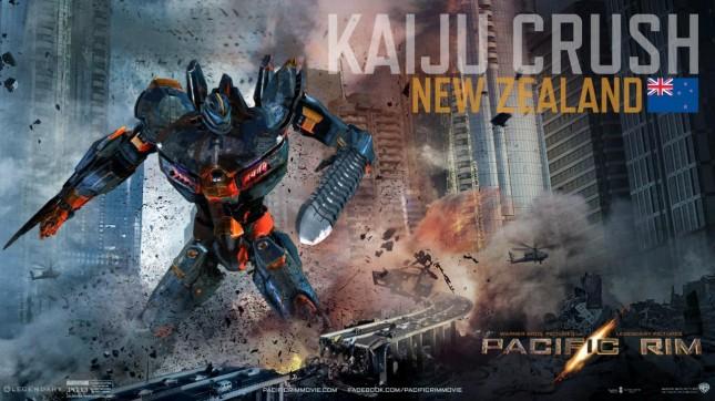 kaiju crush banner titanes del pacifico