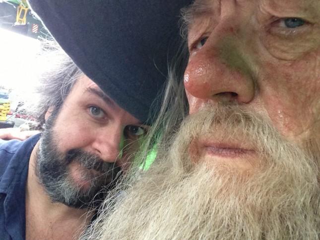 peter jackson ian mckellen hobbit gandalf