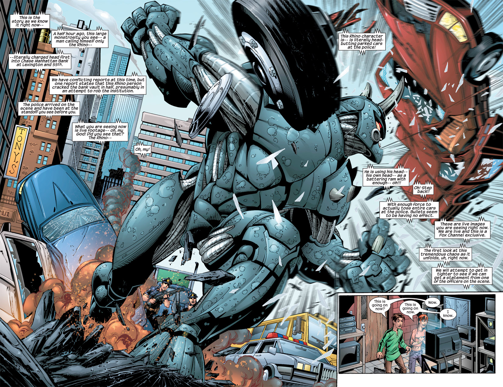 ultimate spiderman rhino