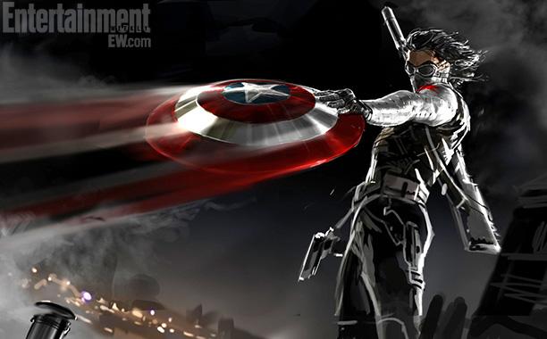 soldado de invierno capitan america 2 arte conceptual
