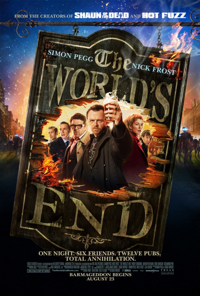the worlds end barmaggedon poster