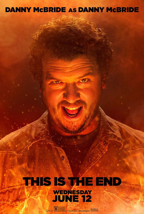 danny mcbride this is the end poster