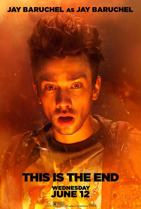jay baruchel this is the end poster
