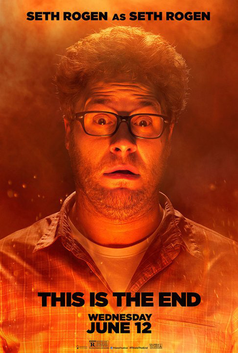 seth rogen this is the end poster