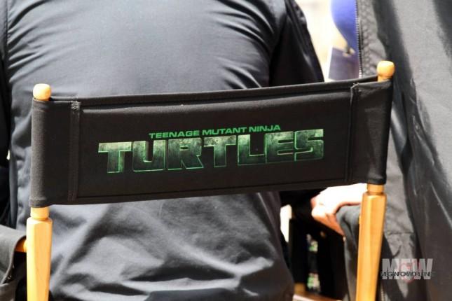 las tortugas ninja logo silla