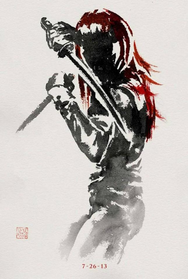 yukio wolverine inmortal poster