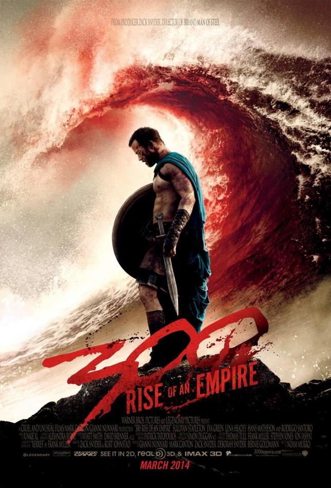 300 nacimiento de un imperio poster