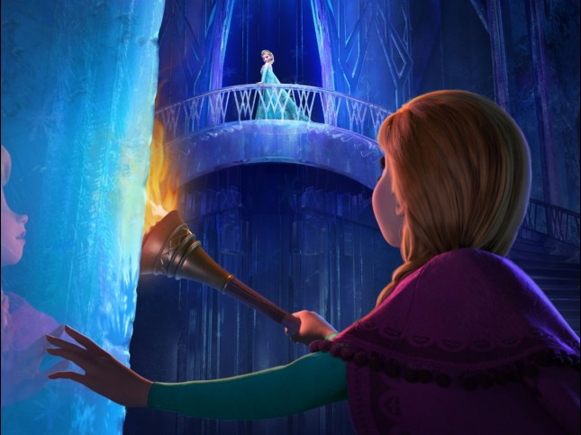 frozen aventura congelada anna elsa