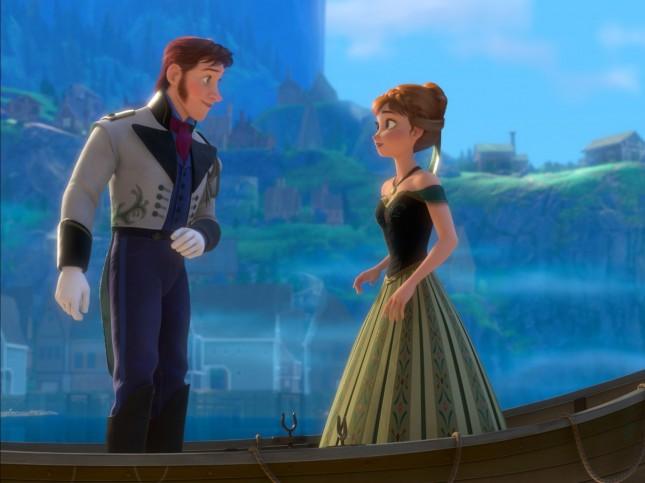 hans anna frozen aventura congelada