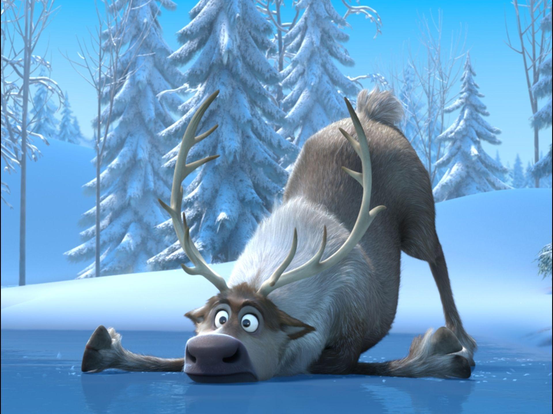 sven frozen aventura congelada