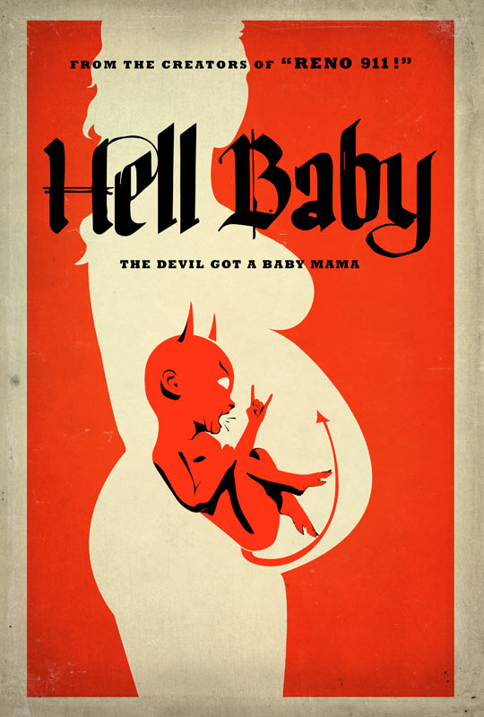 Hell Baby: El famoso poster