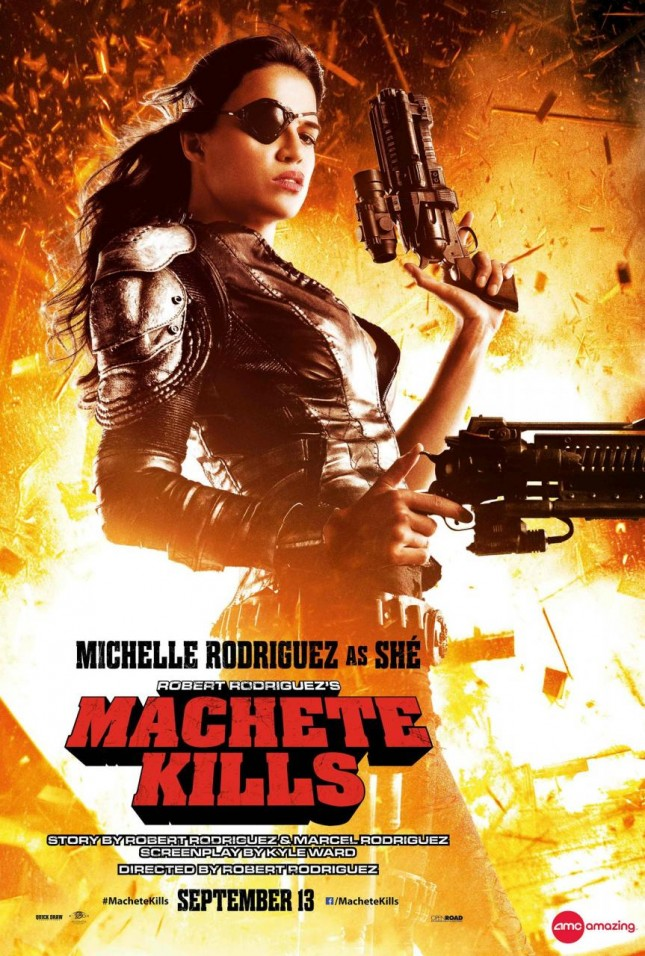 michelle rodriguez she machete kills