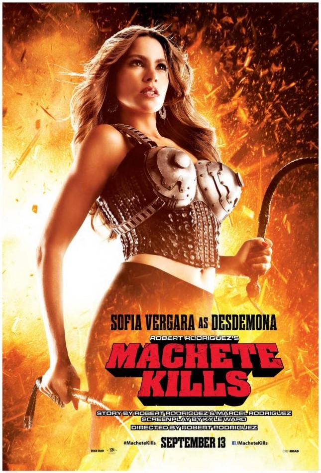 Machete Kills Sofia Vergara